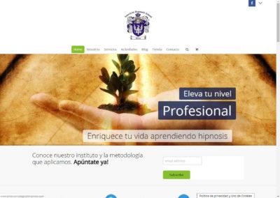 Website American Colegio de Hipnosis