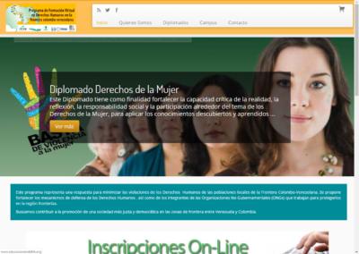 Website Educación en Derechos Humanos