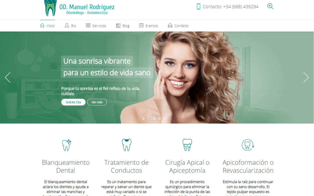 Website OD. Manuel Rodríguez